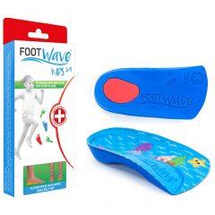 Wkładki ortopedyczne FootWave Kids 3/4