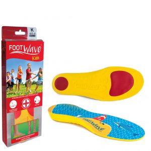 Wkładki ortopedyczne FootWave Kids Full Length