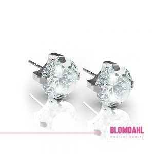 Tiffany CZ White 5 mm SFJ