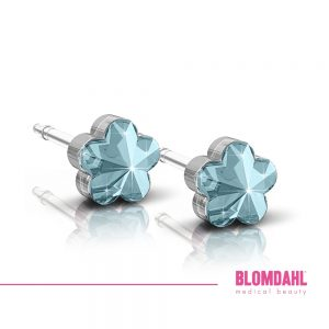 Flower Aquamarine 6mm SFJ