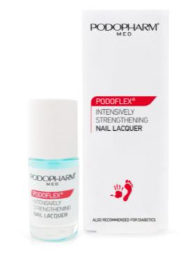 PODOFLEX® Intensywnie wzmacniający lakier do paznokci