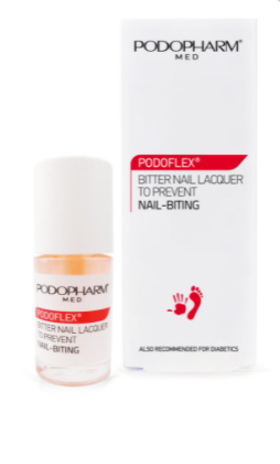 PODOFLEX® Gorzki lakier do paznokci przeciw obgryzaniu